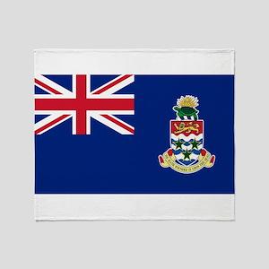Cayman Islands Flag Throw Blanket