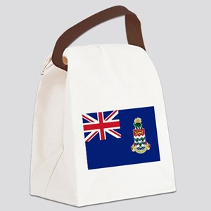 Cayman Islands Flag Canvas Lunch Bag