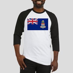 Cayman Islands Flag Baseball Jersey