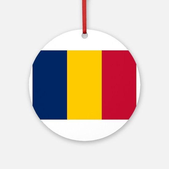 Unique Chad flag Round Ornament