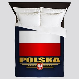 Flag of Poland Queen Duvet