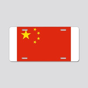 China Flag Aluminum License Plate