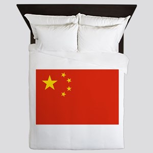 China Flag Queen Duvet