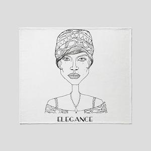 ELEGANCE by Szuchay Throw Blanket