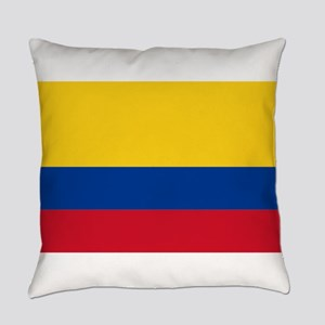 Colombia Flag Everyday Pillow