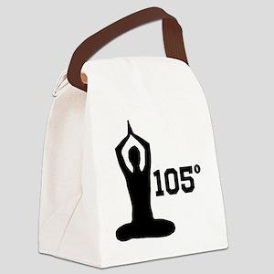 Hot Yoga Canvas Lunch Bag
