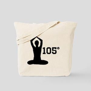 Hot Yoga Tote Bag