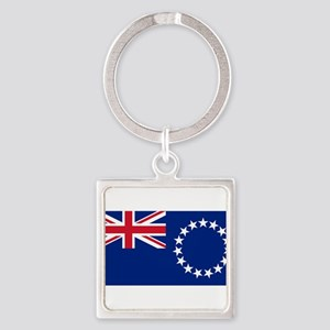 Cook Islands Flag Keychains