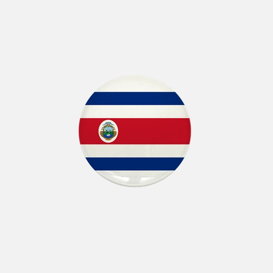 Costa Rica Flag Mini Button