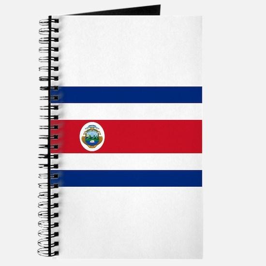 Costa Rica Flag Journal
