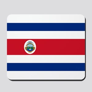 Costa Rica Flag Mousepad