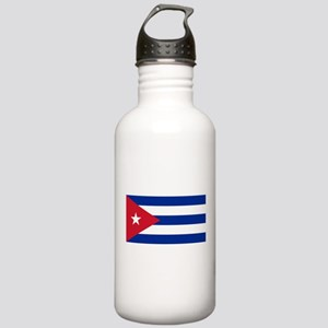 Cuba Flag Water Bottle