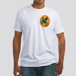 The Halloween monster Fitted T-Shirt