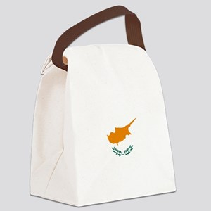 Cyprus Flag Canvas Lunch Bag