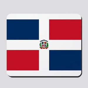 Dominican Republic Flag Mousepad