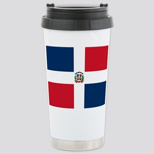 Dominican Republic Flag Travel Mug