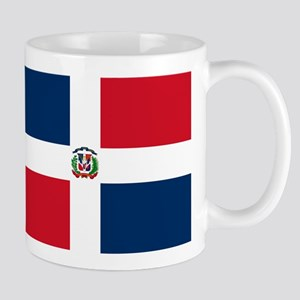 Dominican Republic Flag Mugs