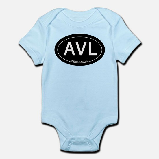 Asheville NC AVL Infant Bodysuit