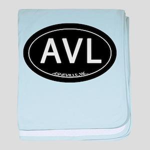 Asheville NC AVL baby blanket