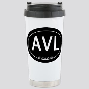 Asheville NC AVL Stainless Steel Travel Mug