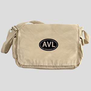 Asheville NC AVL Messenger Bag