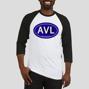 Asheville NC Blue AVL Baseball Jersey