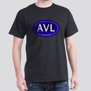 Asheville NC Blue AVL Dark T-Shirt