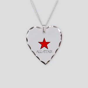 ALL STAR Necklace Heart Charm