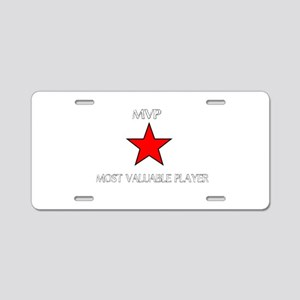 ALL STAR MVP Aluminum License Plate
