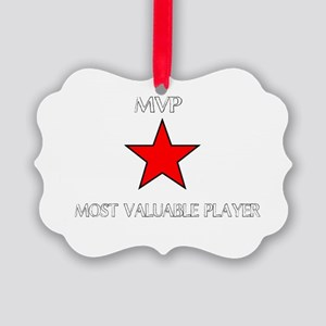 ALL STAR MVP Picture Ornament