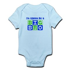 I'm gonna be a big bro Infant Bodysuit