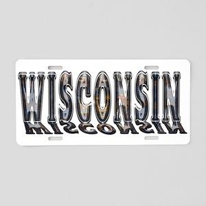 Wisconsin Rust LP Aluminum License Plate
