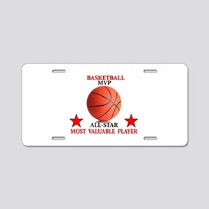 BASKETBALL MVP ALLSTAR Aluminum License Plate