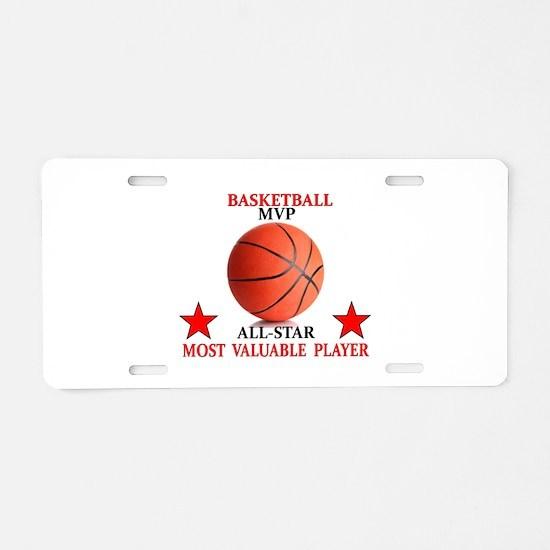 BASKETBALL MVP ALLSTAR Aluminum License Plate