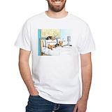 Yorkie Mens Classic White T-Shirts