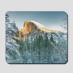 Half Dome in Winter Mousepad