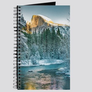 Half Dome in Winter Journal