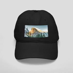 Half Dome in Winter Black Cap