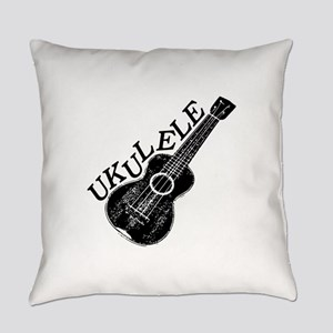 Ukulele Text And Image Everyday Pillow