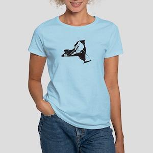 Ski New York Women's Light T-Shirt