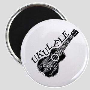 Ukulele Text And Image Magnets