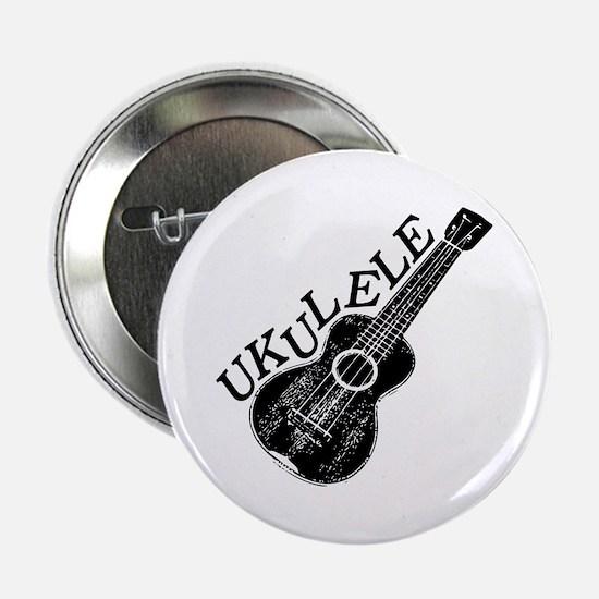 """Ukulele Text And Image 2.25"""" Button"""