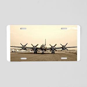 FIFI B-29 Vintage USAF Bomber Aluminum License Pla