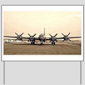 FIFI B-29 Vintage USAF Bomber Yard Sign