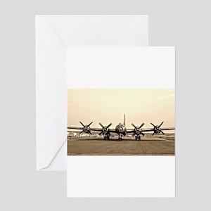 FIFI B-29 Vintage USAF Bomber Greeting Cards
