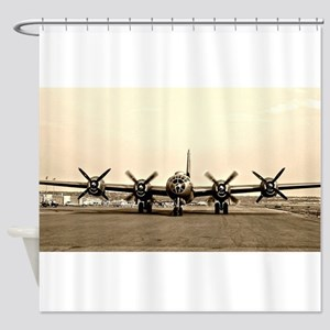 FIFI B 29 Vintage USAF Bomber Shower Curtain