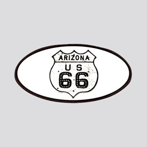 Route 66 Old Sign Arizona Patches