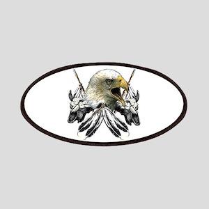 Buffalo Skull Eagle Patches