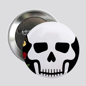 "Abby Skull 2.25"" Button (10 pack)"