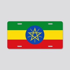 Ethiopia Flag Aluminum License Plate